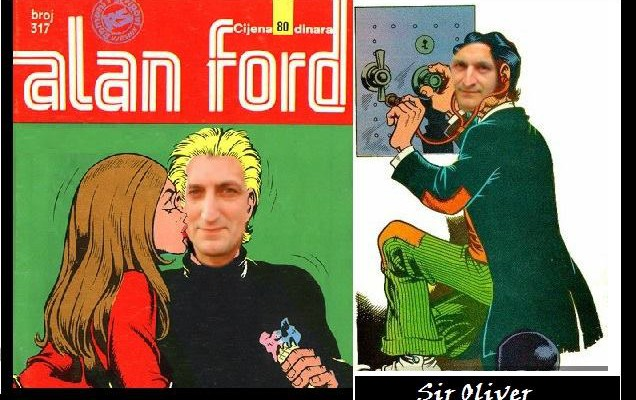 alan ford i sir oliver